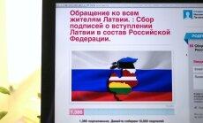 Interneta joks par Latvijas pievienošanu Krievijai piesaista Drošības policijas uzmanību