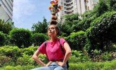 ФОТО. Быть в тренде: как сделать вазу на голове