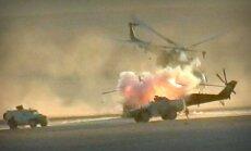 Video: 'Daesh' Sīrijā iznīcina Krievijas kara helikopteru