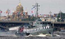 Krievija grib piespiest NATO atstāt Baltijas jūru, brīdina Igaunijas ministrs