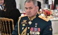 NATO iznīcinātājs pietuvojies Krievijas aizsardzības ministra lidmašīnai