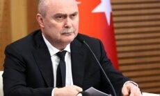 Turcija izsaka līdzjūtību Krievijai par notriektās lidmašīnas pilota bojāeju