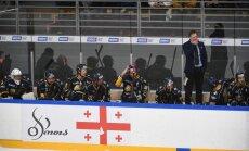 'Prizma' OHL līderu spēlē uzvar valsts čempionus 'Kurbads' hokejistus