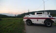 Abhāzijā sprādzienos munīcijas noliktavā miruši divi cilvēki