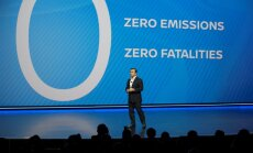 'Nissan' sola nodrošināt nulle izmešu un nulle bojāgājušo uz ceļiem