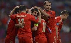 Krievija EURO 2012 sāk ar pārliecinošu uzvaru