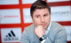 Pahars: Redzu un jūtu, ka Rudņevs ļoti vēlas spēlēt Latvijas izlasē