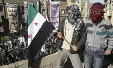 Bruņotais opozīcijas grupējums 'Brīvā Sīrijas armija' izveido vienotu pavēlniecību Sīrijā