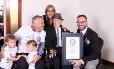 Īsi pirms 114. dzimšanas dienas miris pasaulē vecākais vīrietis