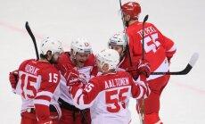 Ice hockey. KHL. Spartak vs. Vityaz