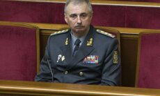 Ukrainā par aizsardzības ministru iecelts iepriekš nolaupīts komandieris