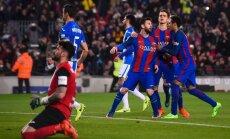 Barcelona Lionel Messi, Neymar, Denis Suarez