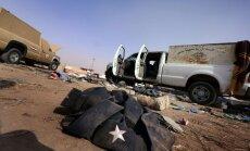 Sīrijas iznīcinātāji devuši triecienu islāmistu kaujiniekiem Irākā