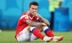 Нападающий Смолов объяснил свой незабитый пенальти в матче с хорватами