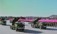 Spriedze Ziemeļkorejā: ASV atliek ballistiskās raķetes izmēģinājumu