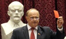 Krievijas komunisti iesaka rīkot referendumu, lai pārdēvētu Sanktpēterburgu par Ļeņingradu