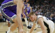 Bertāns iemet deviņus punktus 'Spurs' pārbaudes spēlē, kamēr Porziņģis atpūšas