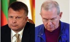 Šleseru un Lembergu par 'oligarhu sarunām' parlamentā iztaujās novembrī