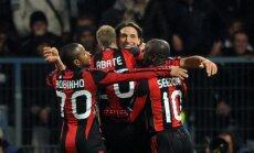 'AC Milan' un Marseļas 'Olympique' iekļūst UEFA ČL astotdaļfinālā