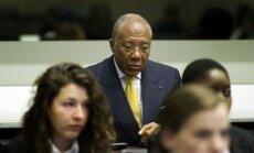 Par kara noziegumiem notiesātais Libērijas eksprezidents pieprasa valsts pensiju