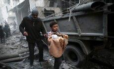 Франция призвала Россию прекратить авиаудары по мирному населению в Сирии
