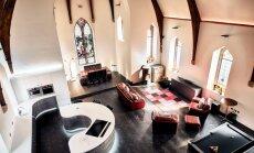 Foto: Sena baznīca Lielbritānijā pārtop gaumīgā un modernā mājā