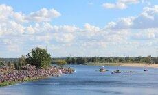 Pasta salu Jelgavā plāno atzīt par oficiālu peldvietu