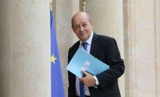 Francijas ārlietu ministrs: sankcijas pret Krieviju nevar atcelt bez progresa Ukrainā