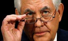 Тиллерсон обсудил с Лавровым и Чавушоглу ситуацию в Сирии