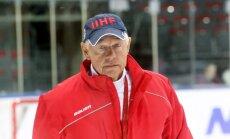 Vasiļjevs: gribu redzēt, ka hokejisti strādā pēc labākās sirdsapziņas