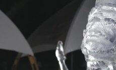 Jelgavā sācies ledus skulptūru festivāls