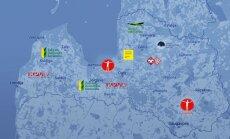 Infografika: Ekskluzīvs ieskats partiju reitingos vēlēšanu apgabalos