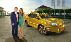 Latvijas 'Dartz' piedāvās Trampam prezidenta apvidus auto
