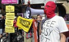 Ķelnes domā sarīkota vācu 'Pussy Riot' akcija