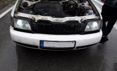 Foto: CSDD reidā noķerti vairāki ar nelegāliem ksenona lukturiem