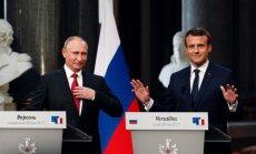 Путин встретится с Макроном перед финалом ЧМ-2018 Франция— Хорватия
