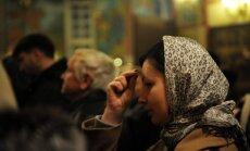 В Латвию прибыл ковчег с мощами 54 мучеников и исповедников
