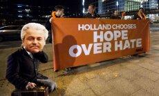 Eiropas politiķi atzinīgi vērtē proeiropeisko partiju uzvaru Nīderlandes vēlēšanās