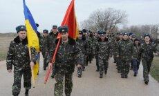 Ukrainas armijas rekrutēšanas centrus pārpludinājuši brīvprātīgie