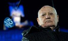 Ukrainas krīze var novest pie kodolkara, brīdina Gorbačovs