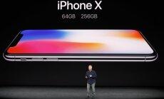 'Apple' prezentējis jauno 'iPhone 8' un speciālo 'iPhone X'