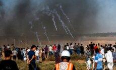 Uz Gazas joslas robežas nošauts Izraēlas karavīrs