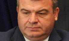 Krievijas bijušajam aizsardzības ministram var izvirzīt apsūdzības