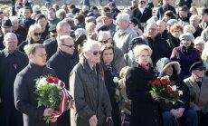 Leģionāru pasākums Lestenē kupli apmeklēts; gaidāma kritušo pārbedīšana no Krievijas