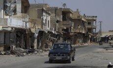 ASV satrauc ķīmiskie ieroči Sīrijā pēc Asada režīma krišanas