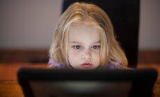 Bērndārznieks datoratkarīgs: mūsdienu realitāte
