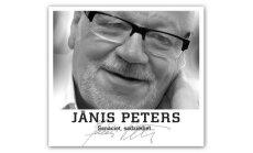 Izlasē 'Sanāciet, sadziediet...' apkopotas populārākās dziesmas ar Jāņa Petera dzeju