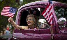Foto: Amerikāņi līksmo Neatkarības dienas svinībās