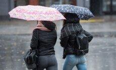 Otrdienas pēcpusdienā lietus vairumā Latvijas teritorijas mitēsies