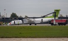 'airBaltic': lidmašīnas 'Bombardier' problēmu cēloņi pagaidām nav zināmi